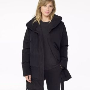 James perse wrap down jacket